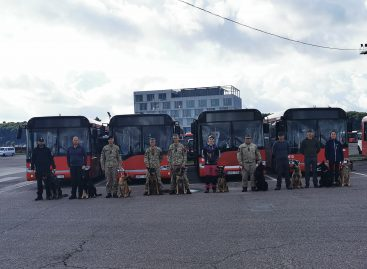 """UAB """"Kauno autobusai"""" bendrovėje pratybų diena"""