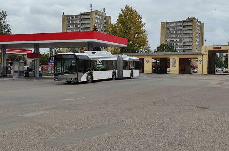 """""""Solaris Urbino 18 electric"""" – Vilniuje"""