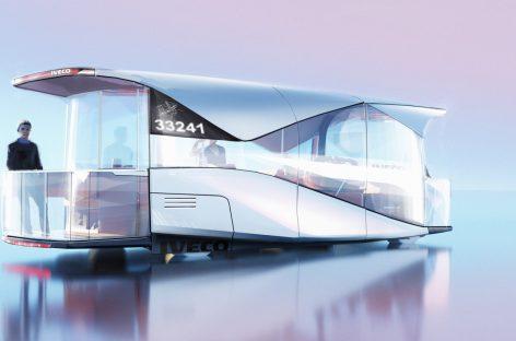 """CNH Industrial Design"" kartu su ""IVECO BUS Design"" komanda siūlo modernaus dizaino autobusus"
