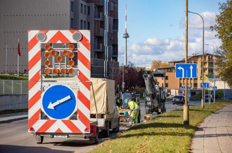 Vaduvos ir Gerosios Vilties gatvės Vilniuje taps saugesnės ir jaukesnės