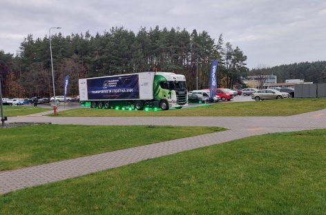 """""""Scania"""" viceprezidentas Vilniuje įvardijo naujus iššūkius, kuriuos teks įveikti pereinant prie elektra varomo sunkiojo transporto"""