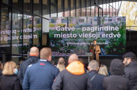 Vilnius pristato darnių gatvių standartą